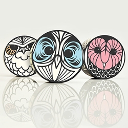 Rosie Gopaul's identity/packaging for Hushh Stewards Soapery is lovely - fun to see the sketches and fun owls/deities.