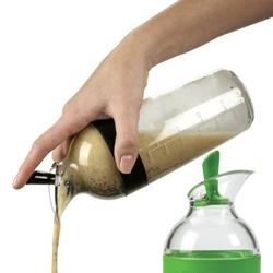 OXO's new salad dressing shaker!