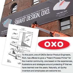 Quirky goes after OXO, and OXO has a nice response... a worthwhile read on industrial design IP... and they are open to helping educate the inventor community too with what they have learned over the years!