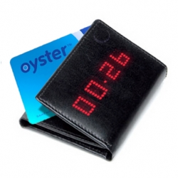 With the Oyster Card Wallet you'll know how much credit you have left at all times. No more waiting for the bus only to be turned away, and no more walking into tube gates. For London Commuters from David Bruno and Tom Seymour.