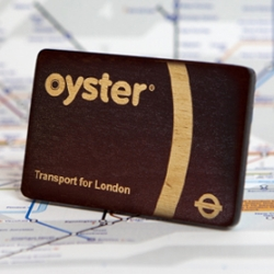 Attention Londoners: The wooden Oyster cards are back and this time they're officially licensed by TFL.