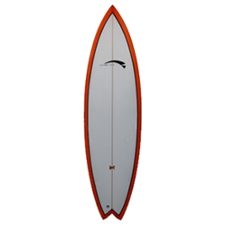 Aerofish Customizable Surfboards - hand made by the designer and shaper Gregorio Motta.