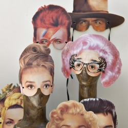 Famous faces masks from Cox & Cox!! (Unfortunately they are sold out!)