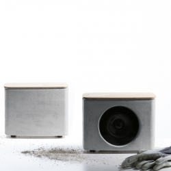 The P.A.C.O. Bluetooth Speaker by Digital Habit(s) is an intriguing concrete speaker.