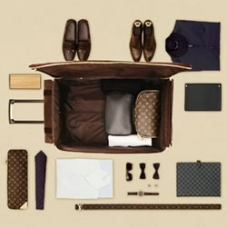 Fascinating pretty little video from Louis Vuitton on how to pack...