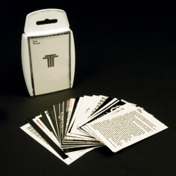 Like playing Top Trumps? Like type? You need Rick Banks' Type Top Trumps