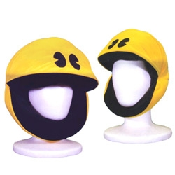 Hehe, Pac-Man heads!  wouldn't this be fun for Halloween?