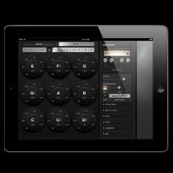Polychord 2, a re-design of polychord iPad music creation app.