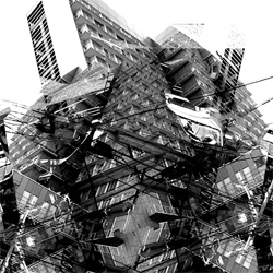 Photographic transformations from an artist in Osaka. This one's from April 06.
