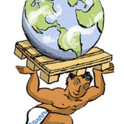 Fascinating read at Slate - The Single Most Important Object in the Global Economy - The pallet. By Tom Vanderbilt