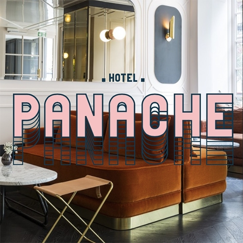 Hotel Panache is a new boutique hotel in Paris. Dressing the corner of rue du Faubourg Montmartre and rue Geoffroy Marie, the Panache is living in Paris. Here bubbling day and night, crossroads of trends and multiple destinations.
