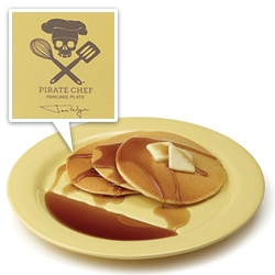 Pirate Chef Pancake Plates designed by Jon Wye exclusively at UncommonGoods!