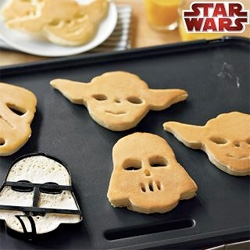 Star Wars pancake molds!