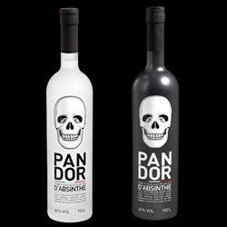 Pandor Absinthe ~ beautiful labels on these new bottles!