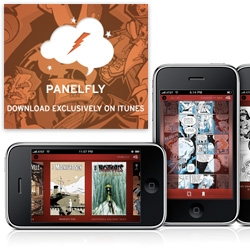 Panelfly ~ an iphone app for comic buying/reading ~ and their site is quite pretty....