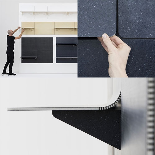 LAYER x Kvadrat's SHIFT is a shape-shifting retail shelf system. Core77 has a nice preview of the system before it's Salone launch.