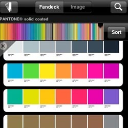 Brand spanking new Pantone iPhone app called myPantone – capture and extract colors from photos and snap to the closest Pantone Color, as well as get color inspiration & color schemes from these Pantone color system libraries