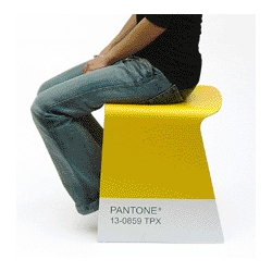 Pantone has been making lots of cool things other than their color matching systems. Check out these stools, available now in limited supply..