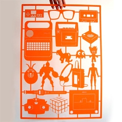 Retro Paper Laser Cuts ~ by Cut Out Paper