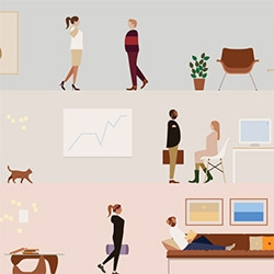 Awesome wallpapers of the Living Office from Herman Miller
