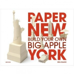 Kell Black's Paper New York allows you to build your own metropolis from paper! Due out in October, but available for preorder on Amazon.