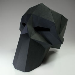 Paper Skull by D-Sturbed.