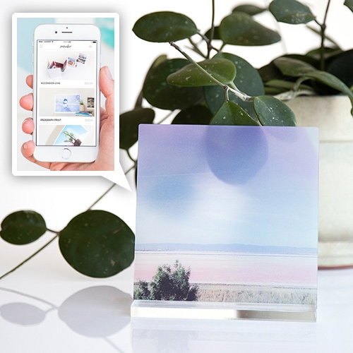 "Parabo Press Masterpix Glass Prints! Their app now lets you print 6""x6"" 20% opacity matte finish Corning Gorilla Glass tiles with your photos on them - perfect for instagrams? (Use code: ZNPLJU for $5 off first order)"
