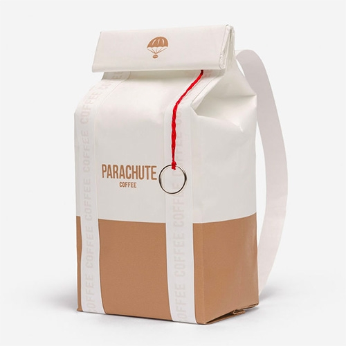 Parachute Coffee - great packaging design by Korefe