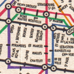 Best of visual information design : Harry Beck's work on subway maps in London and Paris, through a comparative essay by Mark Ovenden. Reading about maps has never been so inspiring!