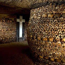 Stephen Alvarez explores the catacombs of Paris for National Geographic.