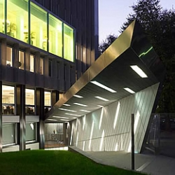 Headquarter building in Milan, Italy. Design by Park Associated and Zucchi & Partners.