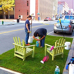 Mark your calendars! September 19th 2008 is Park(ing) Day,  a project aimed at redefining urban space and bringing awareness to the need for green in our cities.