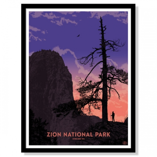 59 Parks Series of prints for all the National Parks has launched... and the first is Zion National Park by Dan McCarthy.