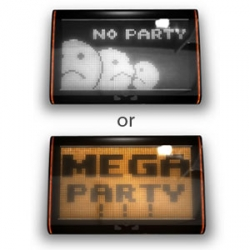 """Party Timer "" - device which becomes the guidebook during your parties. It will analyse and will tell to you what was at you a party, noisy or romantic."