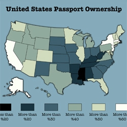 How Many Americans Have a Passport? The Percentages, State by State