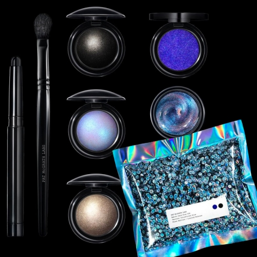 Pat McGrath Dark Star 006 Makeup Collection - So much inescapable space inspiration this year. These sets will add intense, holographic, multidimensional pigments to your looks.