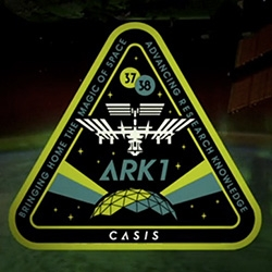 CASIS Mission Patch ARK1 by Shepard Fairey