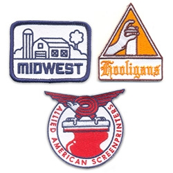 Mike Davis Patch Set ~ Let the world know you rep the world of screenprinters, the world of hooligans, and the mighty Midwest!
