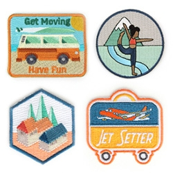 Mokuyobi Threads - cute patches for all of your Yoga and Outdoor Adventures!