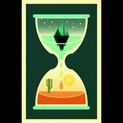 Cute illustration 'Finite' by Patrick Hruby.