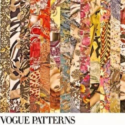 Vogue Italy and Steven Meisel come together to dazzle us with all sorts of patterns in this unique photoshoot.