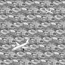 Patterns from cityscape illustrator Laura Barnard.