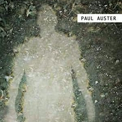 """Lisa Fyfe designed a really interesting jacket for Paul Auster's new book """"Man in the Dark."""" In person you can see the subtle printing effects which adds to the beautiful package."""