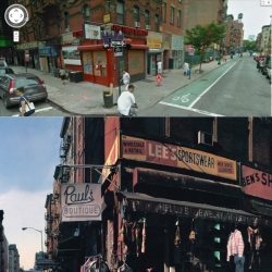 Photo-Set of famous Album Cover Locations found on Google Streetview. We have the original 'Pauls Boutique' (Beastie Boys), Eric Clapton's '461 Ocean Boulevard', Led Zeppelins 'Physical Graffiti-House' and many more. Enjoy!