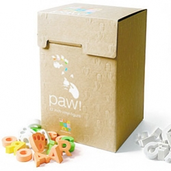 Amazing packaging (for an amazingly crazy cool rabbit toy) paw! by coarsetoys (rainbow + blackout versions)