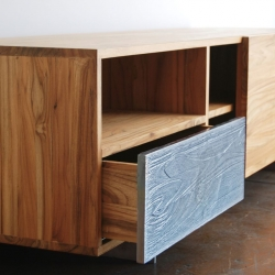Named after the beautiful Pacific Coast Highway, the PCHseries from Mash Studios encompasses the organic and natural feel of the California coast.  Crafted with FSC-certified solid teak and finished with natural oils.