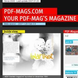 cool. finally a pdf magazine about pdf magazines!