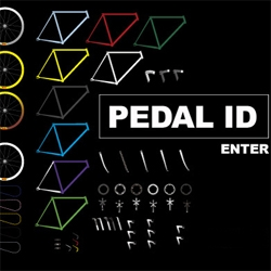 Pedal Mafia: Think Nike iD but for fixed gears. You can build up a bike using a palette of colorful frames, parts and components. Useful to visualize your future bike, and t's a great time waster.