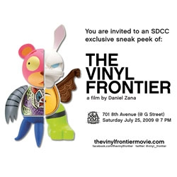 The Vinyl Frontier movie ~ sneak preview at comicon saturday night ~ see you there!