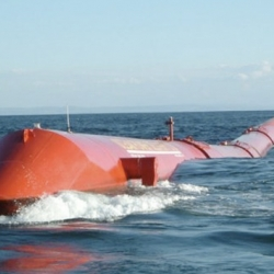 The world's first commercial wave farm recently went live off the coast of Portugal. Designed by Pelamis Wave Power, the farm employs three snakelike Energy Converters to generate 2.25 MW of electricity - enough for 1,500 homes.